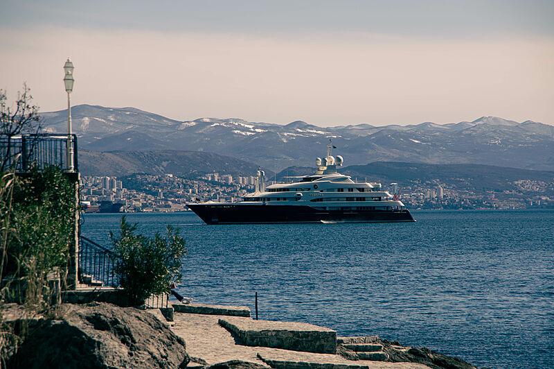 Sarafsa yacht by Devonport in Rijeka, Croatia