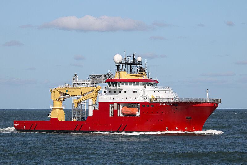 Polar Queen arriving at Rotterdam
