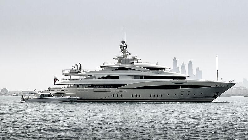 Natalina A yacht by Golden Yachts in Dubai