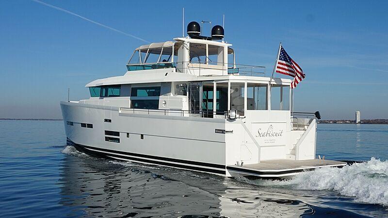 Seabiscuit yacht cruising