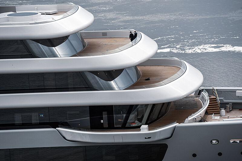 Solaris yacht by Lloyd Werft sea trials