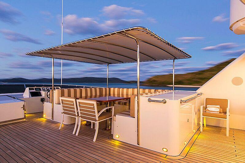 Silentworld yacht deck