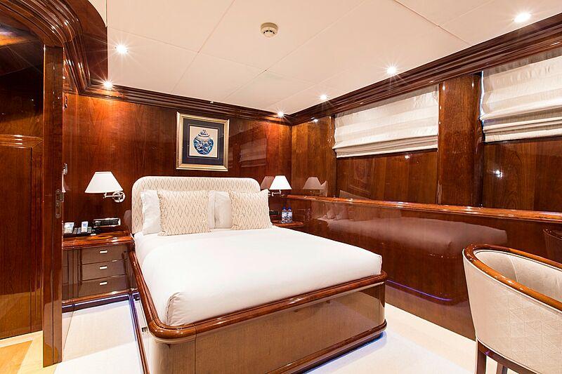 Silentworld yacht stateroom