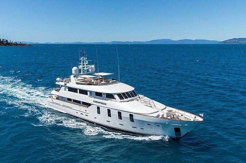 Silentworld yacht cruising