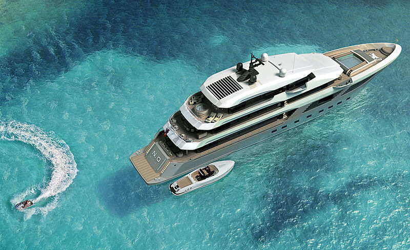 Majesty 175 yacht exterior design