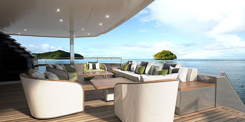 Majesty 175 yacht exterior design