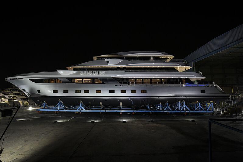 Majesty 175 yacht before launching
