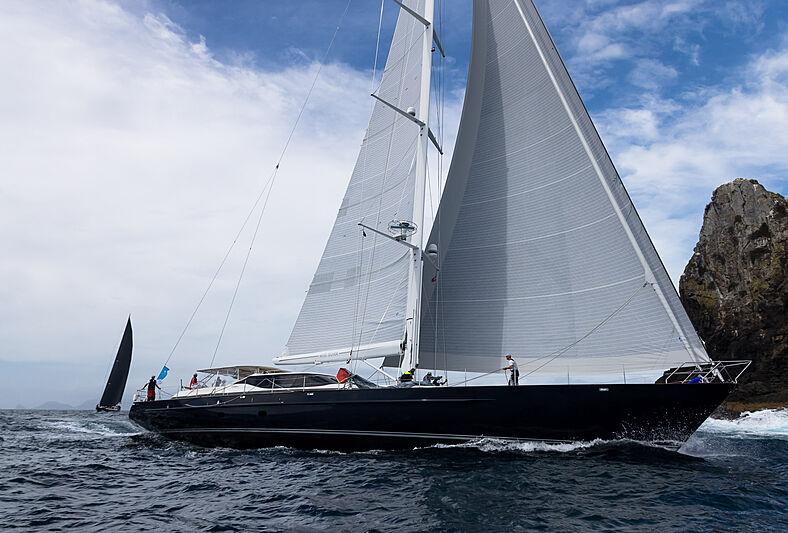 First day of the NZ Millennium Cup superyacht regatta