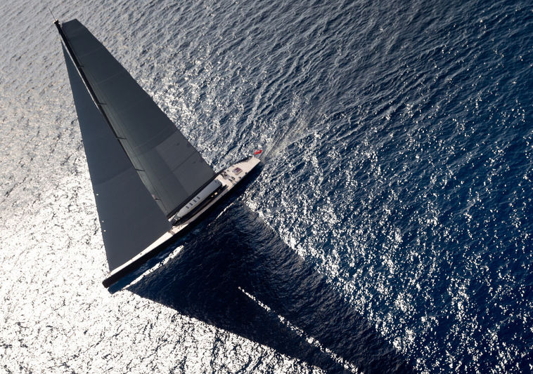 Ngoni yacht aerial