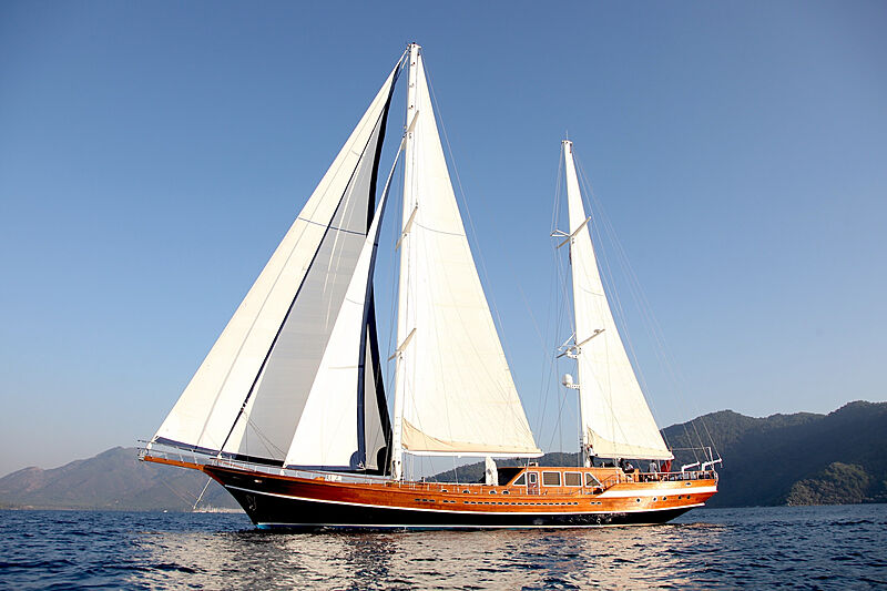 Queen of Datca yacht sailing