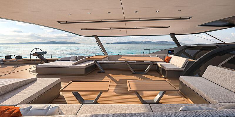 Royal Huisman RP Nauta 151 yacht exterior design