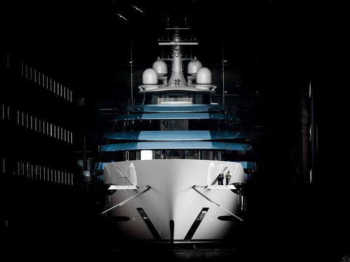 110m Jubilee launch at Oceanco
