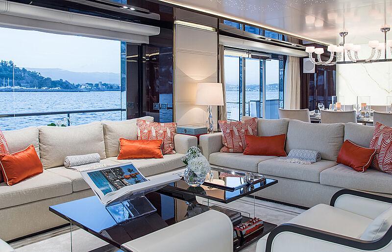 Soulmate yacht saloon