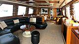 Baron B yacht saloon