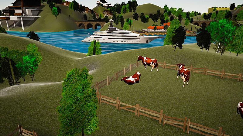 SYT 3D Lürssen Island