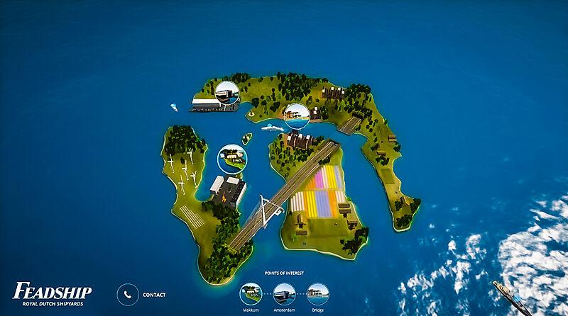 SYT 3D Feadship Island