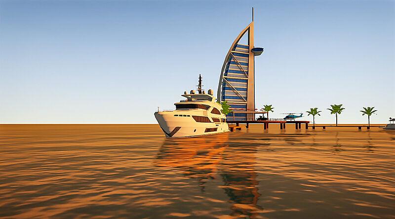 SYT 3D Gulf Craft Marina