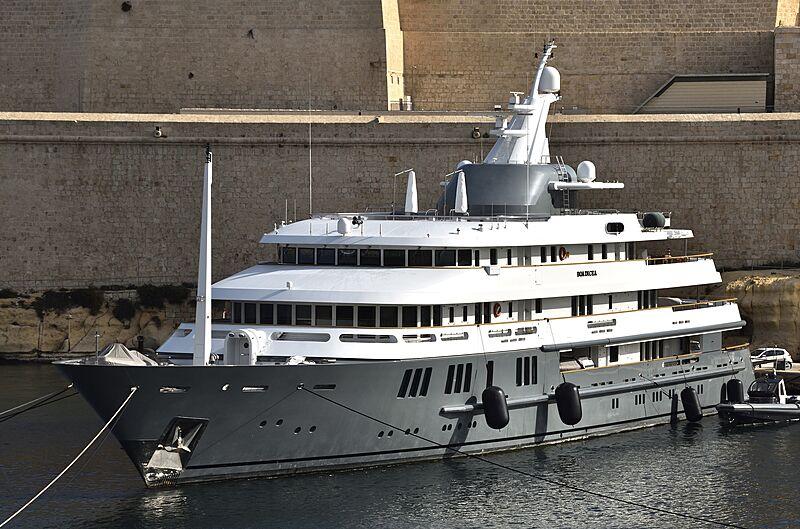 Boadicea yacht in Malta