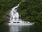 Criss C yacht anchored