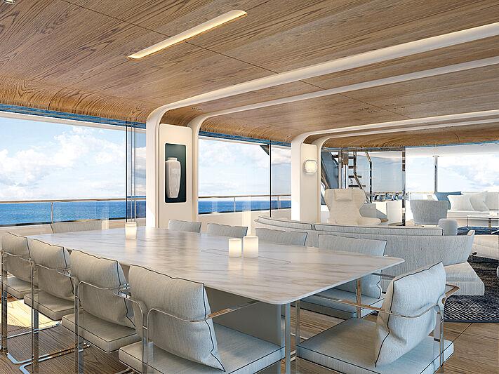 Benetti Motopanfilo 37M yacht interior design