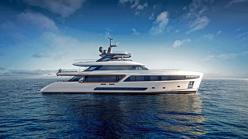 Benetti Motopanfilo 37M yacht exterior design