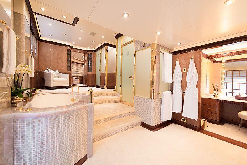 Sea Walk yacht bathroom