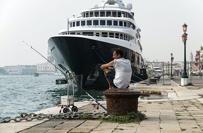 Freedom yacht in Venice