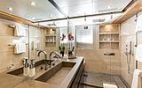 Rahil yacht bathroom