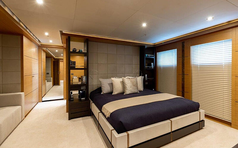 Rahil yacht stateroom
