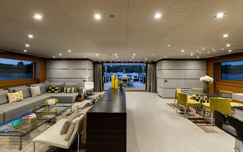 Rahil yacht saloon