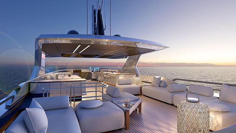 Mazu 92 DS yacht exterior design