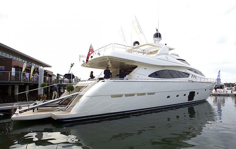 KL yacht Ferretti Yachts
