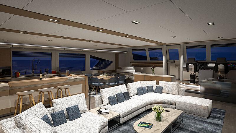 Ocean Eco Explorer 90 interior design