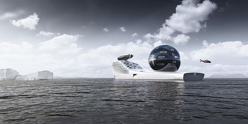 Earth 300 concept exterior design