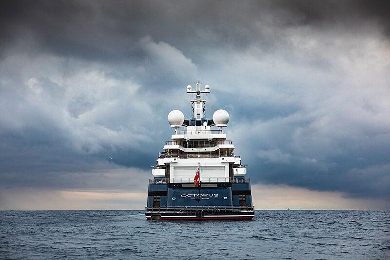 Octopus yacht in Monaco