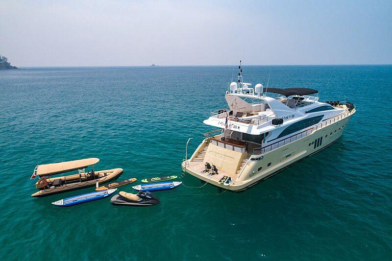 Mia Kai yacht anchored