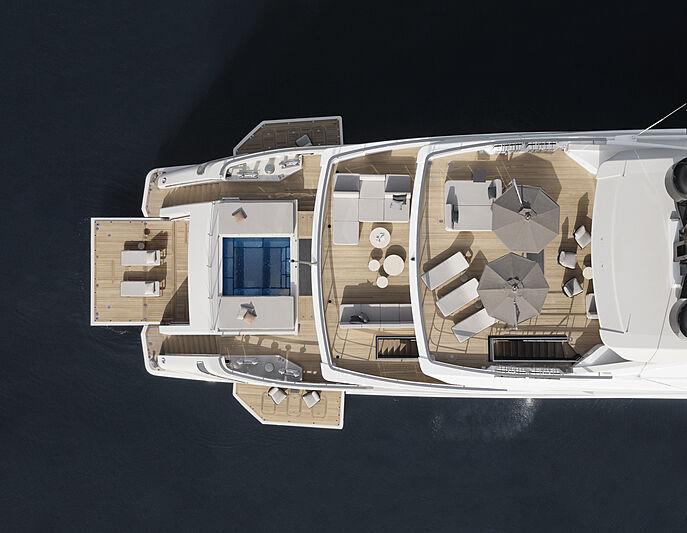 Cloud 9 yacht decks