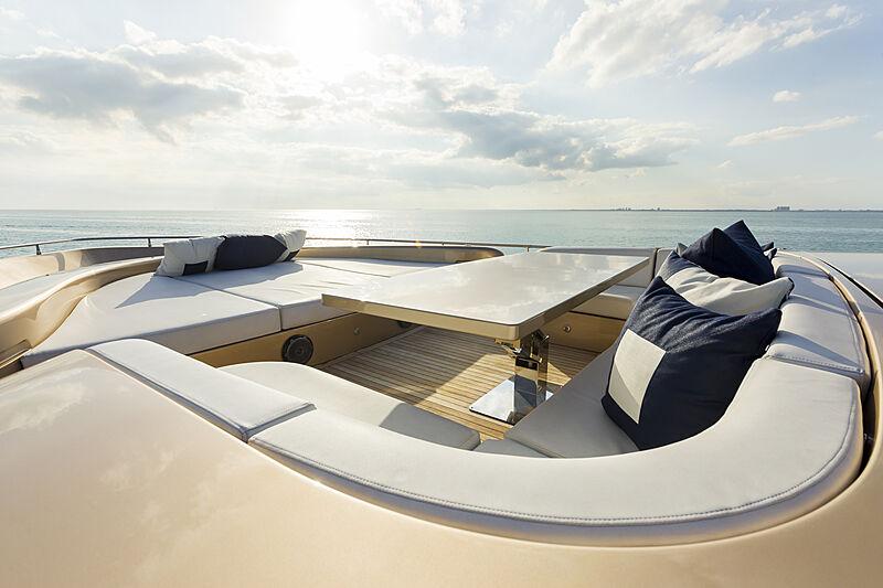 Five Waves yacht sun deck
