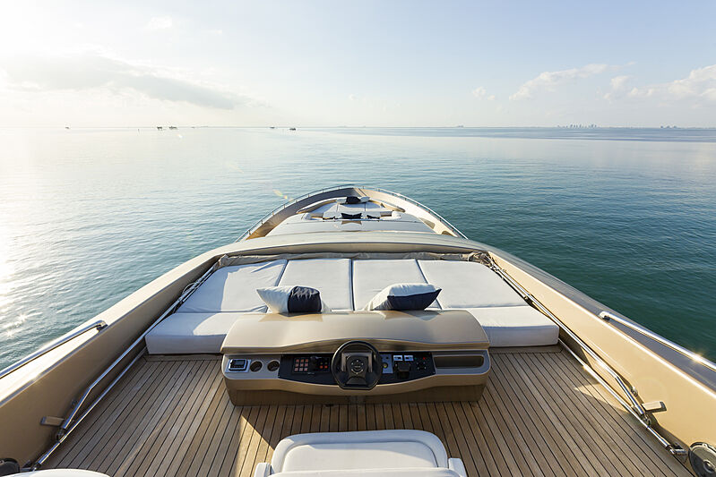 Five Waves yacht foredeck
