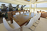 Five Waves yacht dining