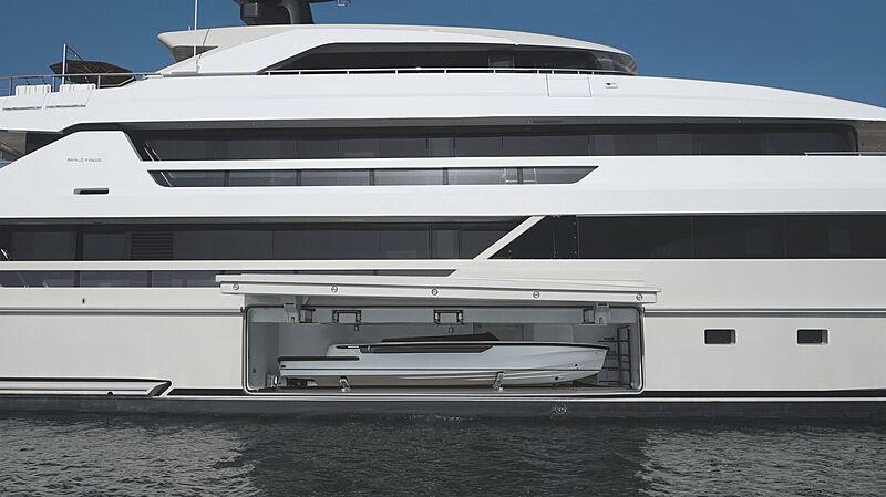 Cloud 9 yacht tender garage