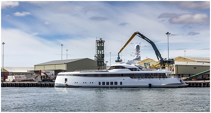 Totally Nuts yacht by Feadship in Poole