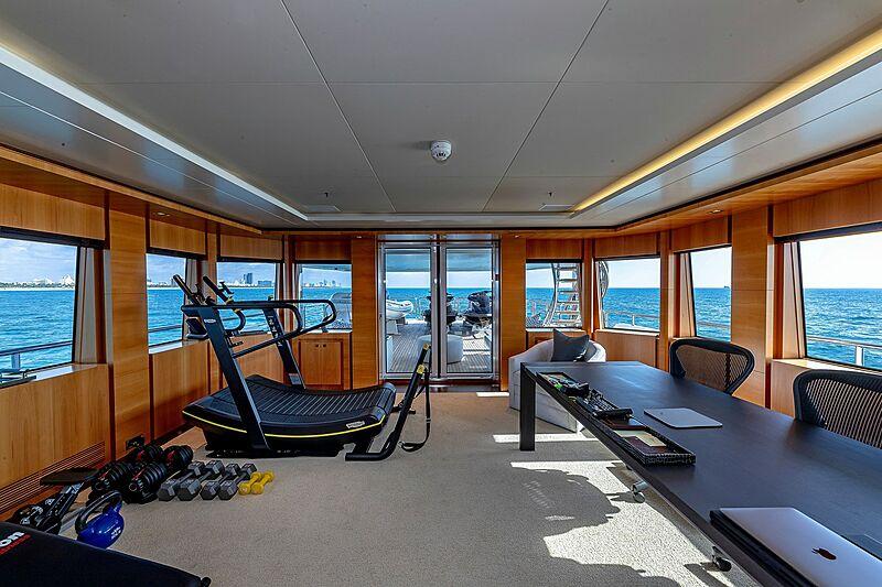 Arete yacht gym