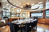 Komokwa yacht dining table