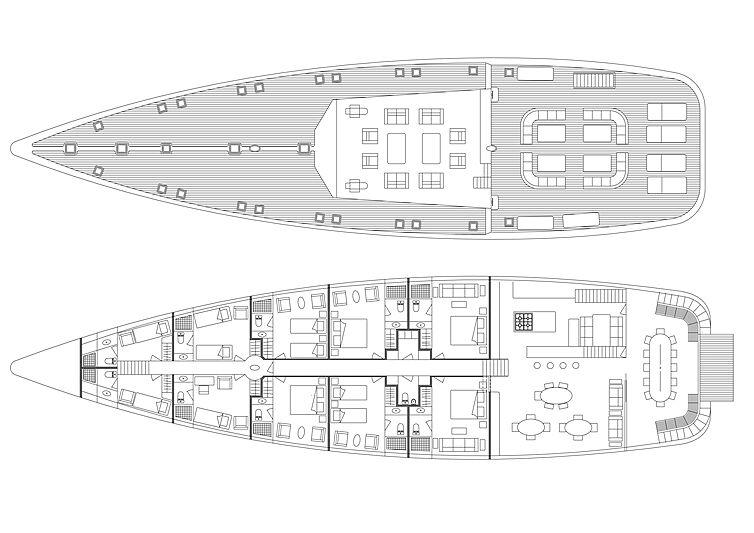 OceanBel 128 concept general arrangement