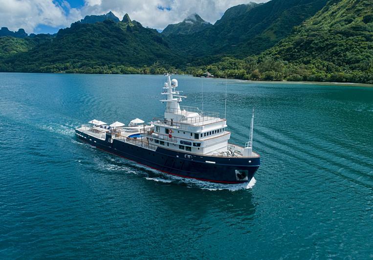 Latitude yacht cruising