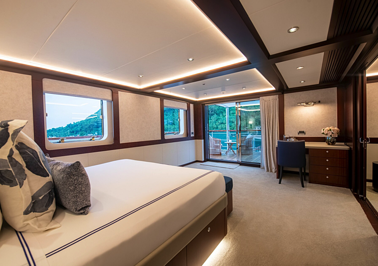 Latitude yacht stateroom