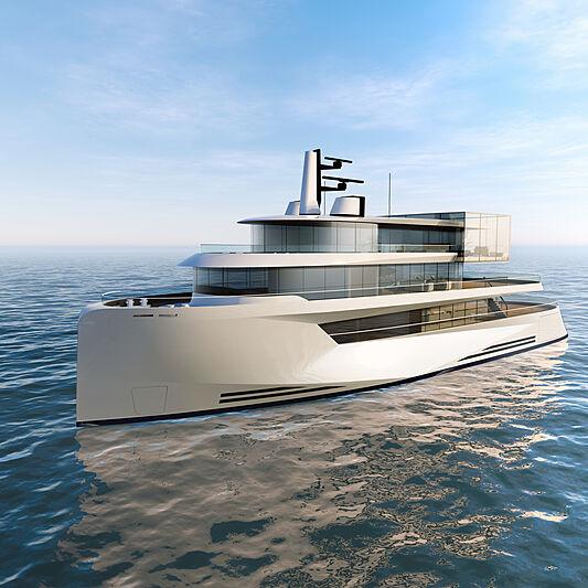 The CUBE 50m concept exterior design