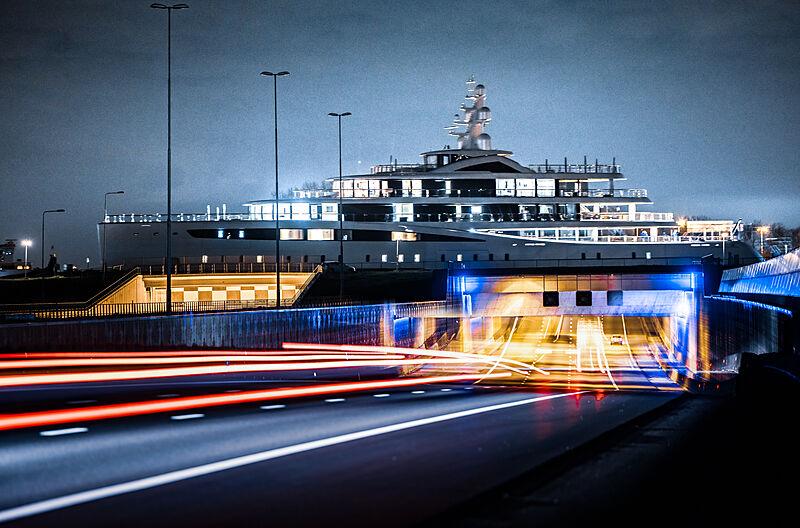 Feadship Project 817 in Molendijk, The Netherlands