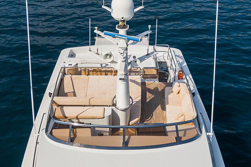 Tex yacht upper deck